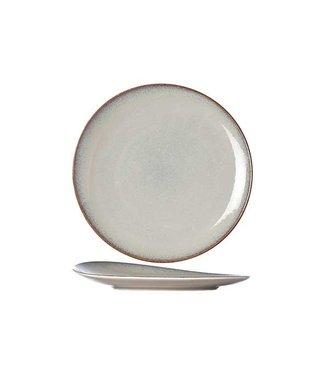 Cosy & Trendy For Professionals Vigo Joy - Flache Platte - Beige - T18cm - Porzellan - (6er-Set).