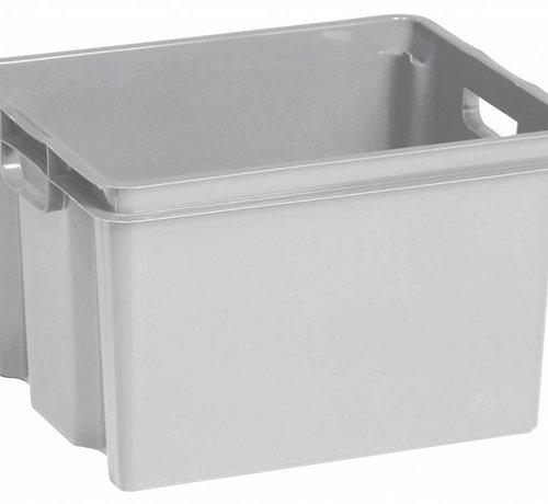 Keter Crownest Box 30l Lichtgrijs 42.6x36.1x26cm