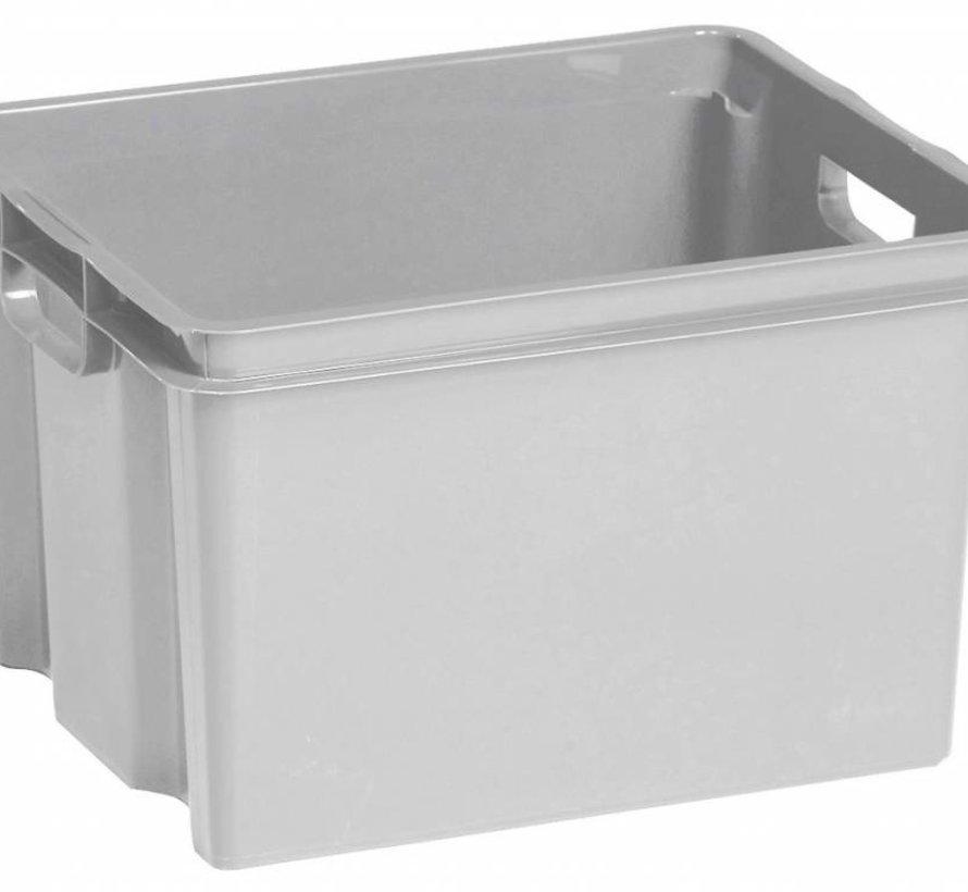 Crownest Box 30l Lichtgrijs 42.6x36.1x26cm