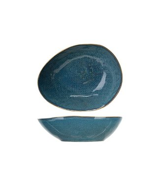 Cosy & Trendy Aicha Blue Soup Plate 20x16,5xh5,5cmoval