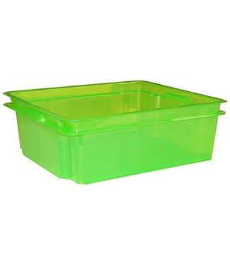 Keter Crownest Box 17L Laser green (set of 4)