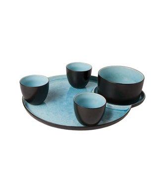 Cosy & Trendy 'Laguna Azzurro' Aperoset 5 pieces