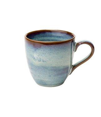 Cosy & Trendy Okarito-Light blue - Cup - 28cl - D8.5xh8.7cm - Ceramic - (set of 6)