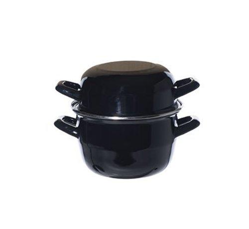 Cosy & Trendy For Professionals Muscheltopf Schwarz-schwarz D16cm 1.7lrn13216