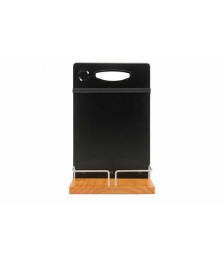 Securit Table Caddy 34,5x22xh20cm Teakincl Chalkmarker And Menu Holder
