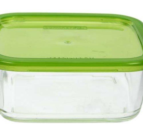Luminarc Keep N Box Doos 720ml Vierkant Groen (set van 6)