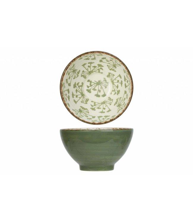 Cosy & Trendy Anis - Ontbijtbowl - Groen - D14,2xh8,2cm - Keramiek - (set van 6)