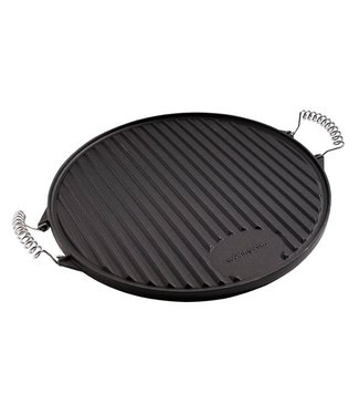 Cook'in Garden Bbq Griddle Round 39.5cm - Cast Iron