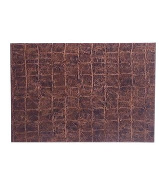 Cosy & Trendy Placemat Leatherlook Brown 43x30cm