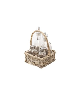 Cosy & Trendy Bottle Carrier Willow 14x14xh19cmbottles Included