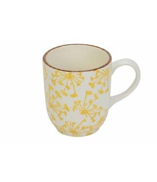 Cosy & Trendy Anis Yellow Mug D8,8xh10cm