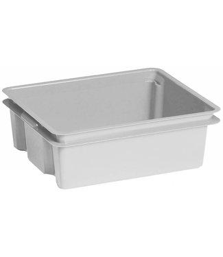 Keter Crownest - Opbergbox - 17 Liter - Grijs - 43x36x14.5cm - (Set van 4)
