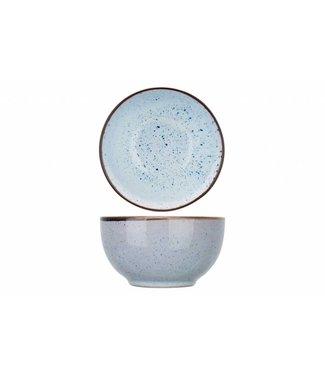 Cosy & Trendy Tessa-Blue - Kommetje - D13,6xh7,5cm - Keramiek - (Set van 6)