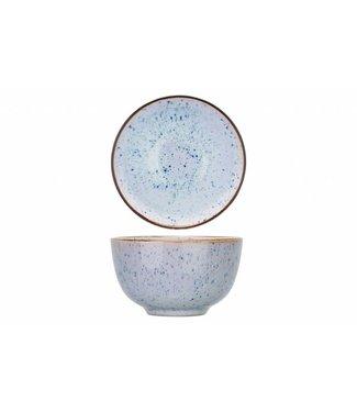 Cosy & Trendy Tessa-Blue - Bowl - D10xh5.9cm - 23cl - Ceramic - (set of 6)