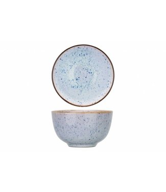Cosy & Trendy Tessa-Blue - Kommetje - D10xh5,9cm - 23cl - Keramiek - (set van 6)