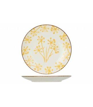 Cosy & Trendy Anis Yellow Dessert Plate D21,9cm - Ceramic - (Set of 6)
