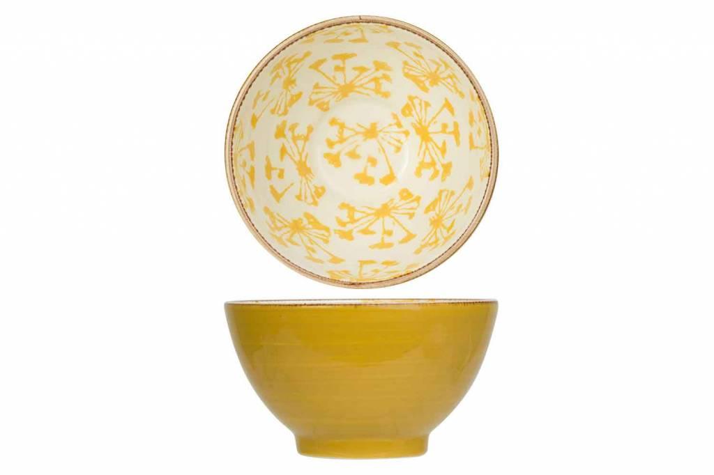 Cosy & Trendy Anis Yellow Bol Dejeuner D14,2xh8,2cm