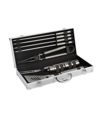 Cook'in Garden Chef Bbq Barbecue Case 9-piece