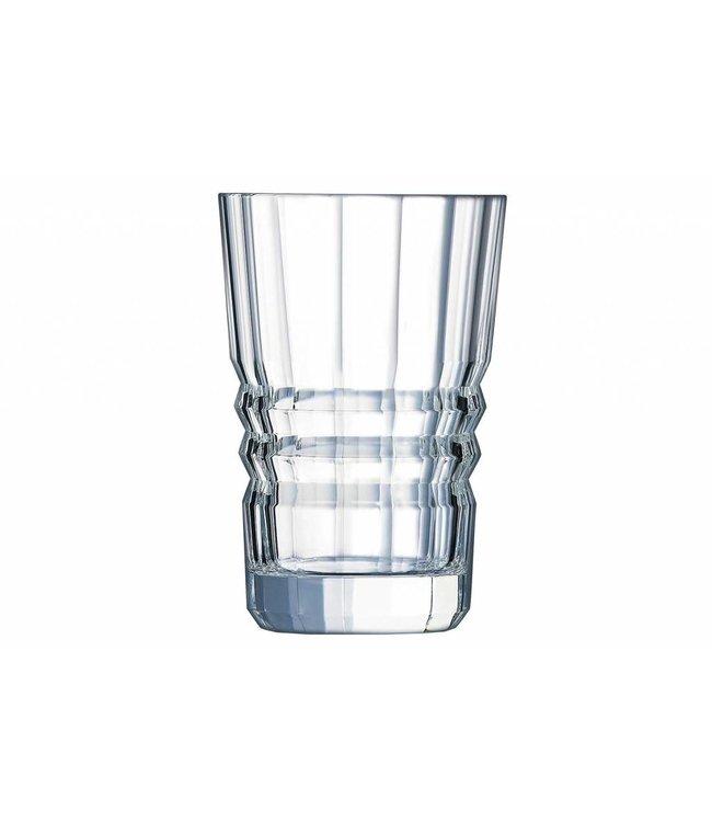 Cristal D'arques Architecte Tumbler  Horeca Fh 36 Cl (set van 6)
