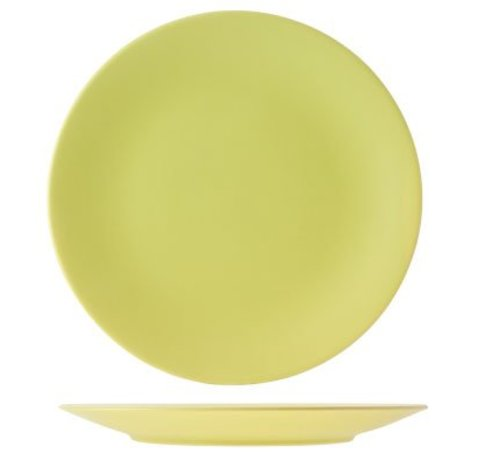 Cosy & Trendy Serena Green Matt  Dinner Plate D25cm (12er Set)