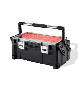 Keter Cantilever Toolbox Combo Black-red56.7x31.4x24.5cm