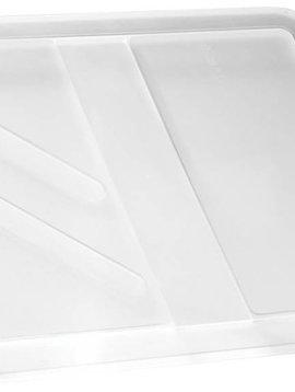 Keter Crownest Deksel Box 17-30l Transparant44.4x37x1.5cm