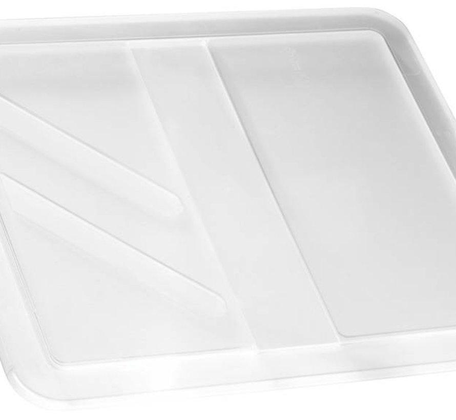 Crownest Deksel Box 17-30l Transparant44.4x37x1.5cm