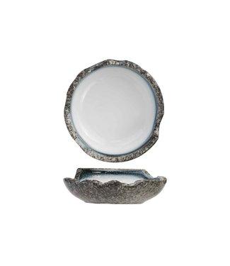Cosy & Trendy Sea Pearl - Wit - Diep Bord - Keramiek - D22cm - (set van 6)
