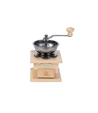 Cosy & Trendy Coffeegrinder Retro Natural Wood (set of 6)