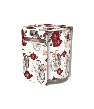 Cosy & Trendy Ct Scented Candle Glass Vintage 22hrs D7xh8cm (6er Set)