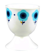 Cosy & Trendy Flor Blue Eierdopje S6 Blauw D5xh6cm