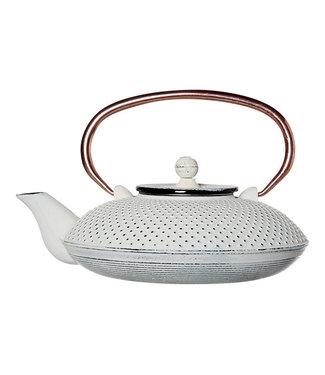 Cosy & Trendy Nara - Teapot - White - 0.8l - Cast iron.