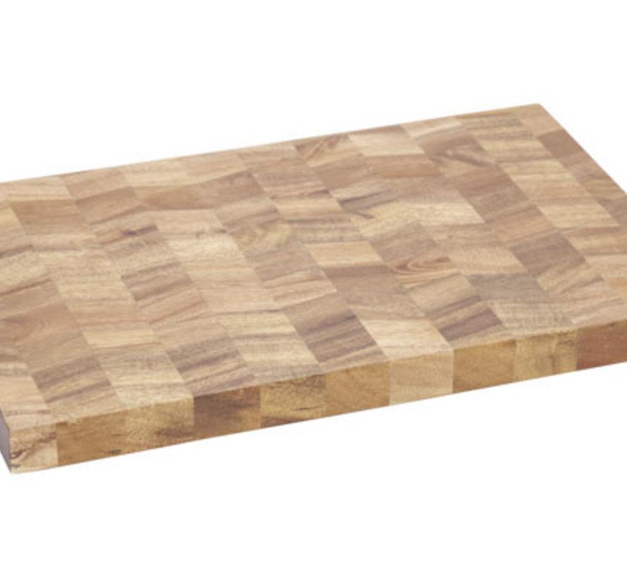 Snijplank 36x24xh2,5cm Acacia