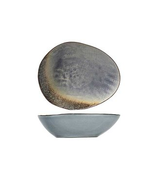 Cosy & Trendy Thirza Grey Soup Plate 20x16,5xh5,5cmoval