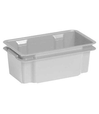 Keter Crownest - Opbergbox - 7 Liter - Grijs - 36x21x35.5cm - (set van 8)