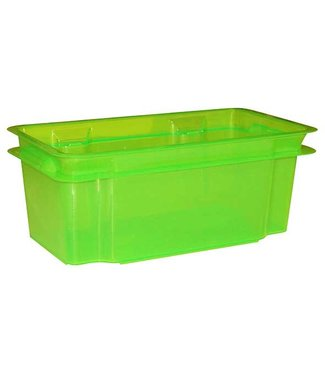 Keter Crownest Box 7l Lasergreen 36x21x35.5cm