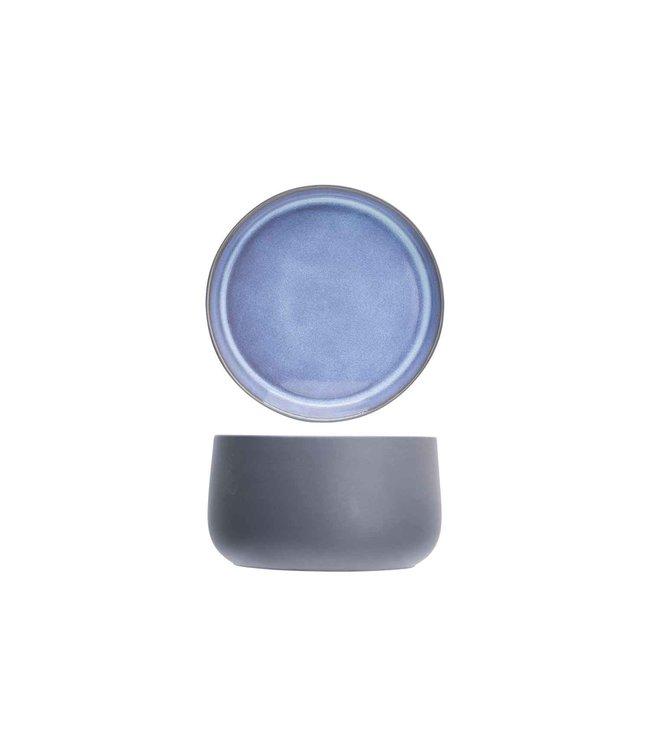 Cosy & Trendy Baikal-Blue - Kom - D13xh8cm - Keramiek - (set van 2)
