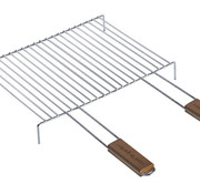 Cook'in Garden Barbecuegrill Voet 2hv 60x40cmchrome
