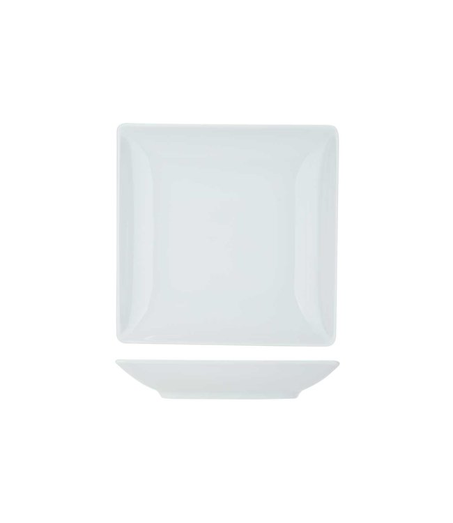 Cosy & Trendy Azia Servies Wit Diepe Borden Porselein - 20x20cm