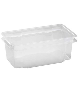 Keter Crownest Box 7l Transparant 36x21x35.5cm