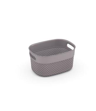 Kis Filo Basket Xs Taupe 23,5x17,5xh12cm