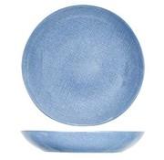 Cosy & Trendy Sajet Blue Soup Plate D24xh4,2cm