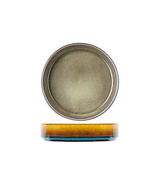 Cosy & Trendy Quintana Groen Diepe Borden - Porselein - D19,5xh5,2cm (set van 6)