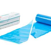 Keeplastics Spuitzakken Antislip 530x270mm Blauw 72stuks