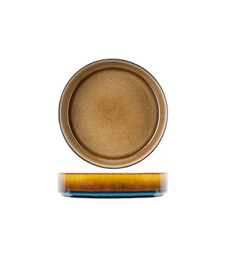 Cosy & Trendy Quintana Amber Diepe Borden - Porselein - D19,5xh5,2cm (set van 6)