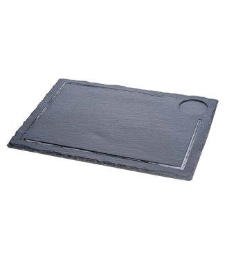 Cosy & Trendy Slate Plate 38x28xh0.5cm