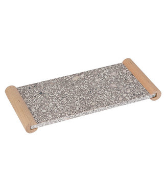Cosy & Trendy Medical Stone Tray Handles In Hout 27.2x13cm - Rechthoek