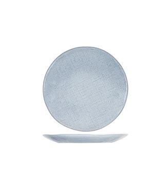 Cosy & Trendy Sajet-Gray - Dinner plate - Ceramic - D27.5cm - (set of 6)