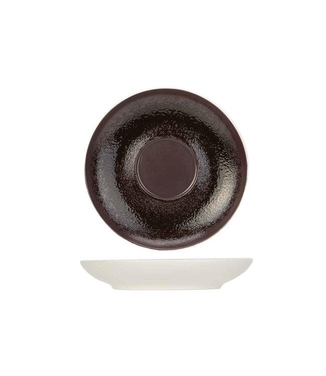 Cosy & Trendy Aubergina Koffieschotels Porselein D14cm -  (set van 6)
