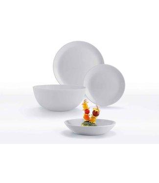 Luminarc Diwali Granit Grijs Servies set 19-delig - Opaal